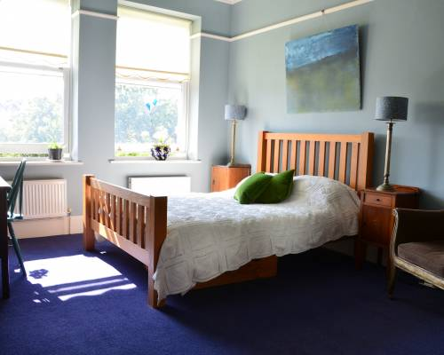Dormitorio tradicional en inglés en el alojamiento de Dialogue UK English Language Course
